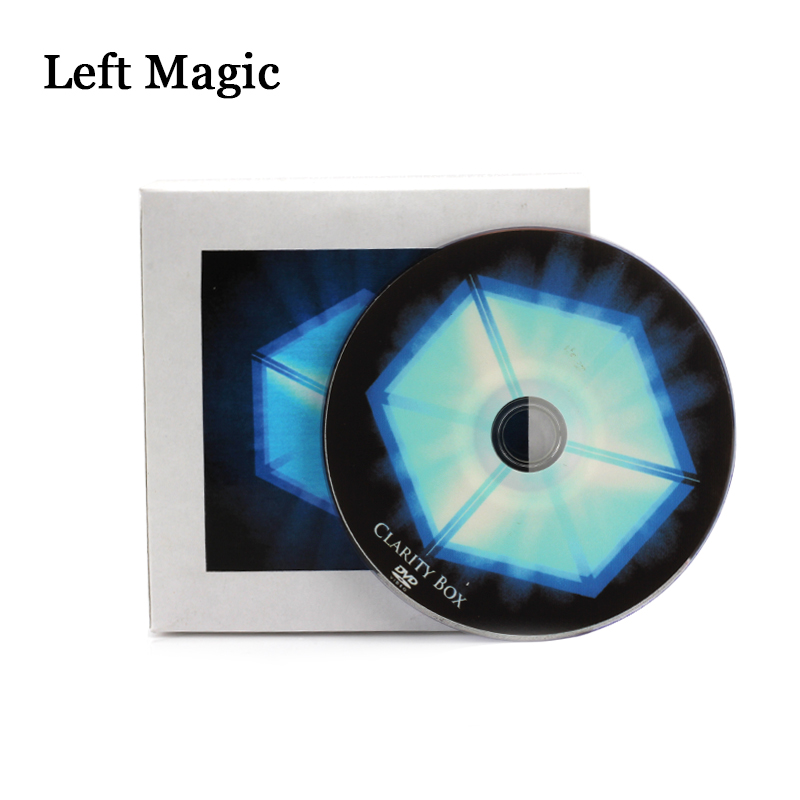 The Clarity Box By David Regal (DVD+Gimmick)  Magic Tricks  Close-Up Street Stage Cards Magic Props  Toys Mentalism Accessories