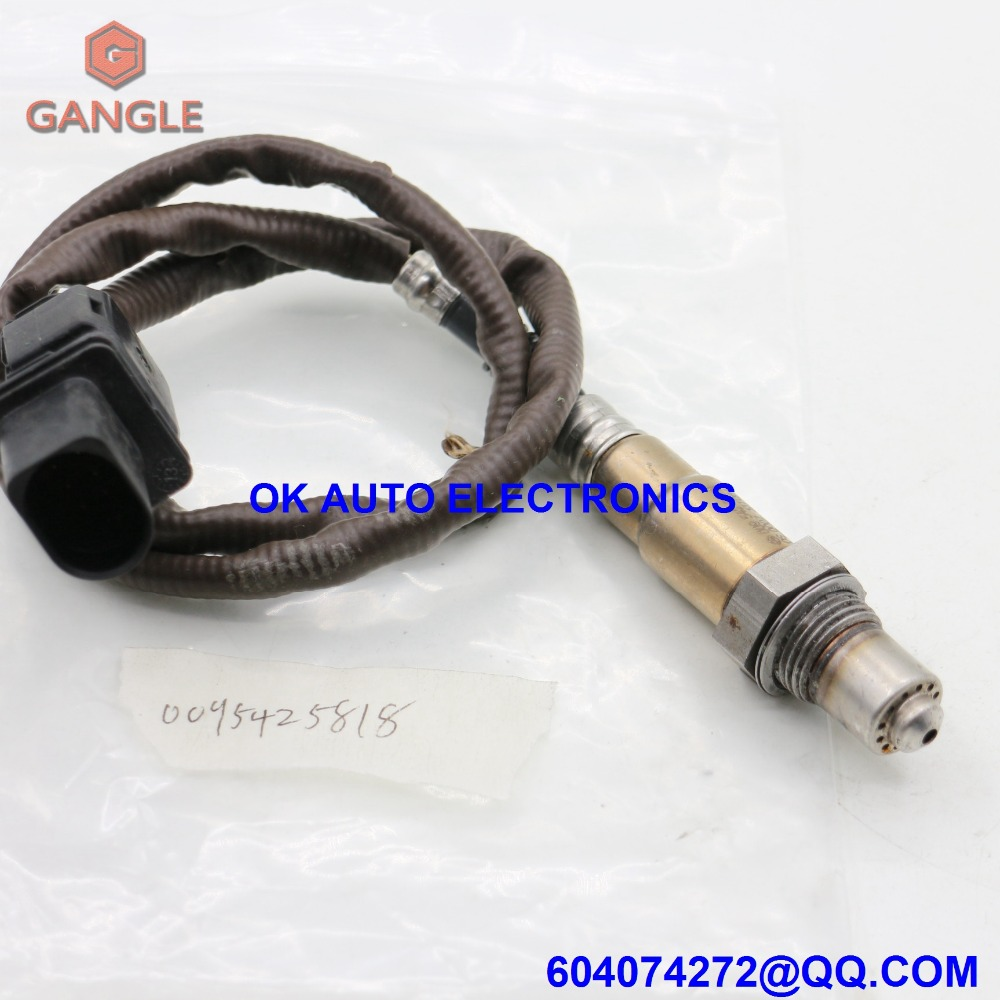 Oxygen Sensor Lambda AIR FUEL RATIO O2 Sensor for MERCEDES-BENZ 0095425818 009 542 5818 oxygen sensor lambda air fuel ratio for mini bmw 5 6 7 series ls17187 757667301 7576673 11787576673 0258017172 0258017187