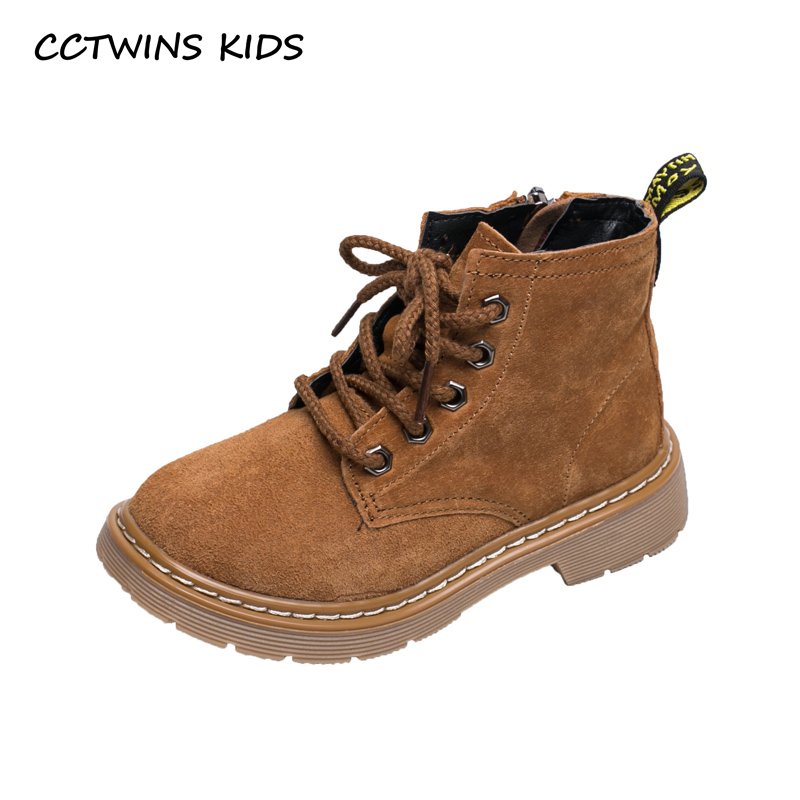 CCTWINS KIDS 2018 Autumn Children Fashion Ankle Boot Baby Boy Black Martin Boot Girl Genuine Leather Shoe Toddler BM003 cctwins kids 2018 autumn baby boy fashion black boot children genuine leather shoe girl brand ankle boot toddler cf1505