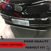 Loyaliteit Voor Toyota RAV4 2016 2017 Front Grill Bumper Grille Trim Garneer Protector Auto Styling Accessoires