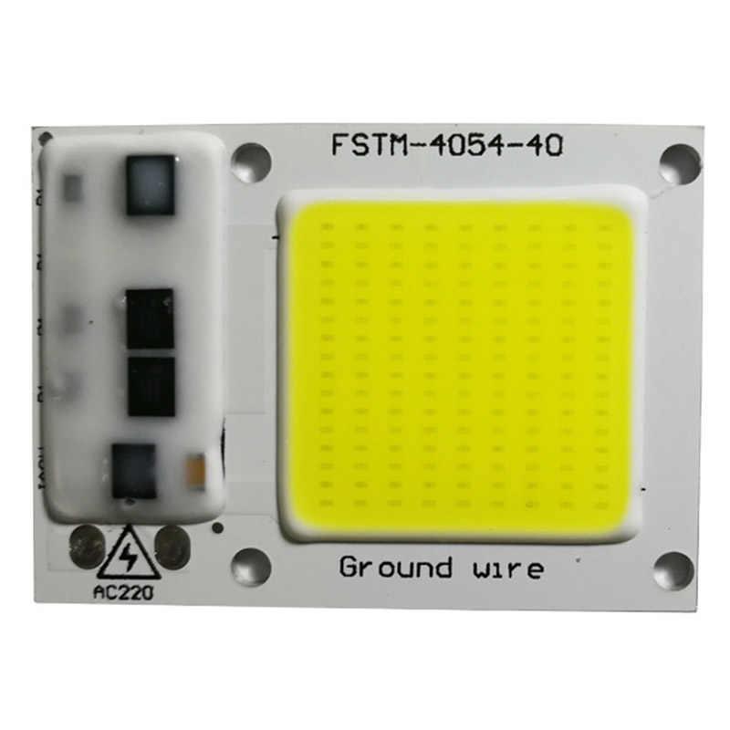 Сменный драйвер с низким энергопотреблением 1 шт. 220 В вход умная Светодиодная лампа чип 20 Вт 30 Вт 50 Вт IC холодный белый