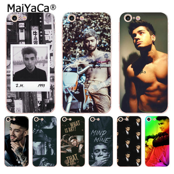MaiYaCa Zap Zayn Malik Tatto Populartransparent soft tpu Phone case for iPhone 8 7 6 6S Plus X 10 5 5S SE 11pro max case Coque image