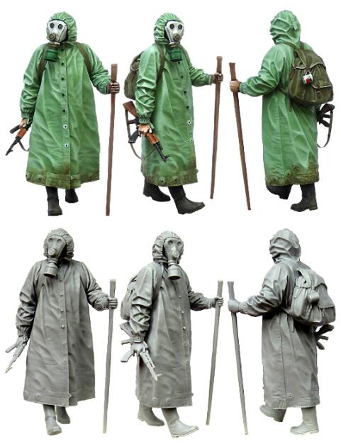 1/35 Resin Figure Stalker Style II 1pc Model Kits