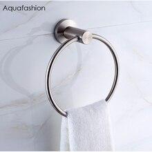 Кольцо для полотенец из нержавеющей стали круглое настенное крепление держатель для полотенец кольцо для полотенец из хрома аксессуары для ванной комнаты