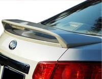 ABS неокрашенные задние крыло багажника выступ Спойлеры подходит для Subaru Legacy Sedan 2009 2010 2011 2012 (со светодиодной лампой)