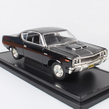 boys 1:18 old 1970 Amc Rebel Rambler classic the scale car hardtop diecast vehicle auto model toy miniature gifts for collection