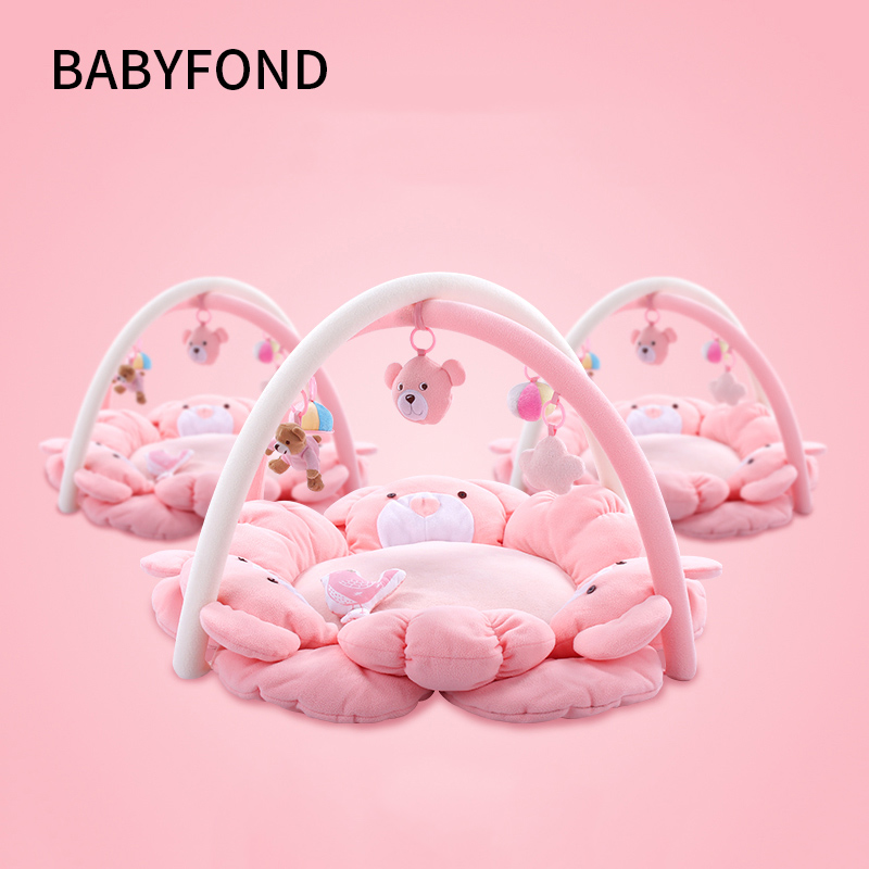 Baby Setting Sail Baby Full Moon Dog Year Gift 0-18 Months Puzzle Music Gym Toy Baby Game Blanket