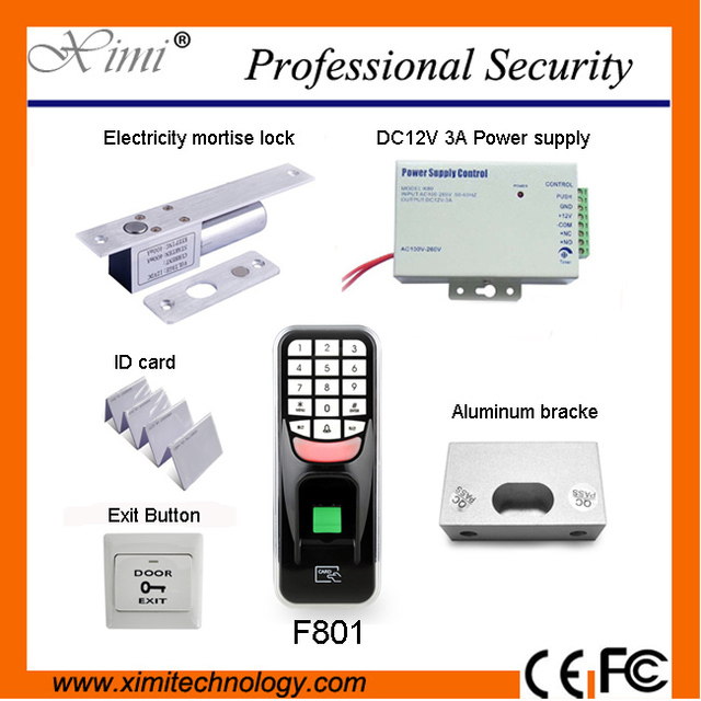 biometric fingerprint access controls f801 usb communications