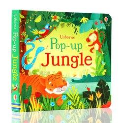POP UP do Conto de Fadas Cinderela Inglês Educativos 3D Flap Livros Ilustrados para Crianças Crianças Livro de Leitura