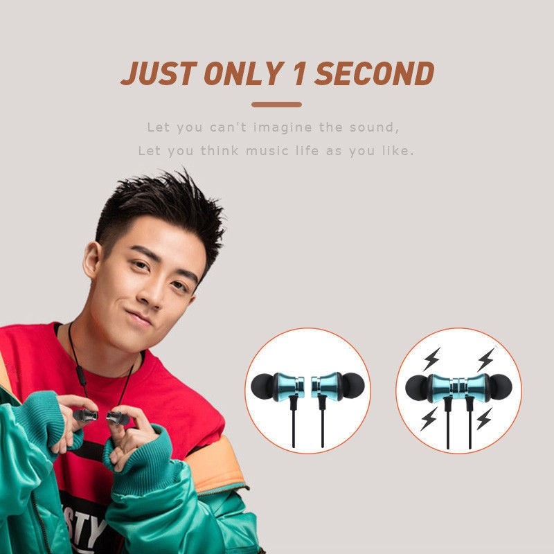 Wireless Bluetooth Earphone For Samsung Galaxy S9 Plus S8 S8+ S7 Edge S6 Active S5 S4 S2 Earphones Sport Earbuds Music Earpiece (3)