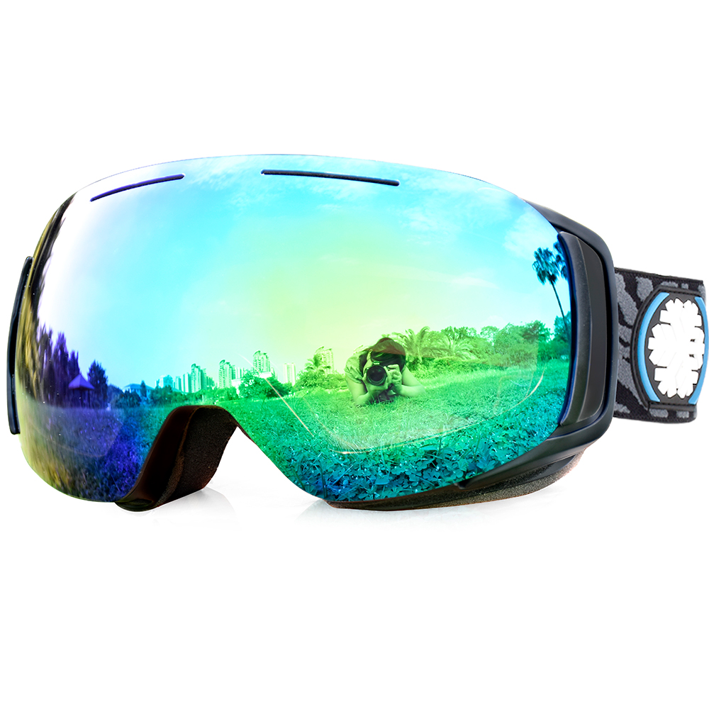 5d980f3d6a44 What you will get  1 x Snowledge Ski Goggles 1 x Carrying Fabric Bag 1 x 3  languages manual 1 x Protective Case