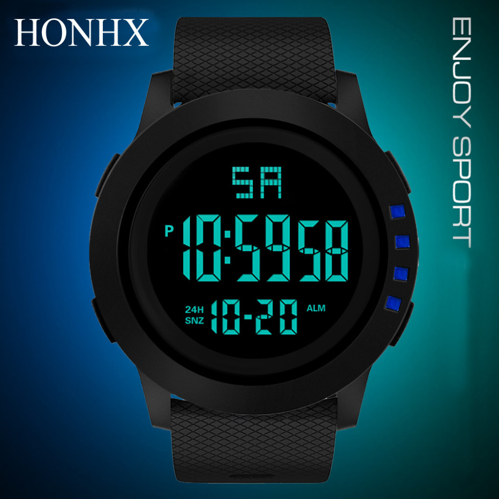 watches men popular watch men sport Digital watch men Military Sport LED Waterproof Wrist Watch Luxury