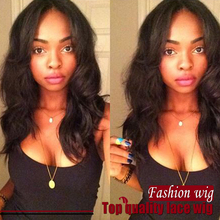 synthetic lace front wig heat resistant natural synthetic short wigs for black women malaysian body wave lace front wig