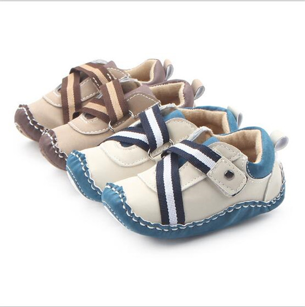 Baby Boys Sko First Walker Spædbørn Outside Shoes Sneaker Prewalker