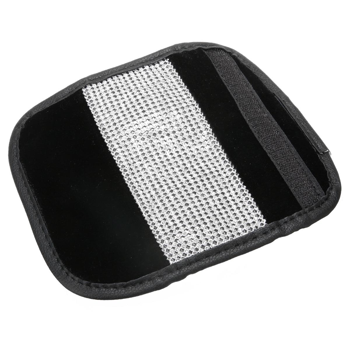 Universal 1pc Rhinestone Car Leather Handbrake Covers Gear Cover Auto Car Interior Protection Accessories