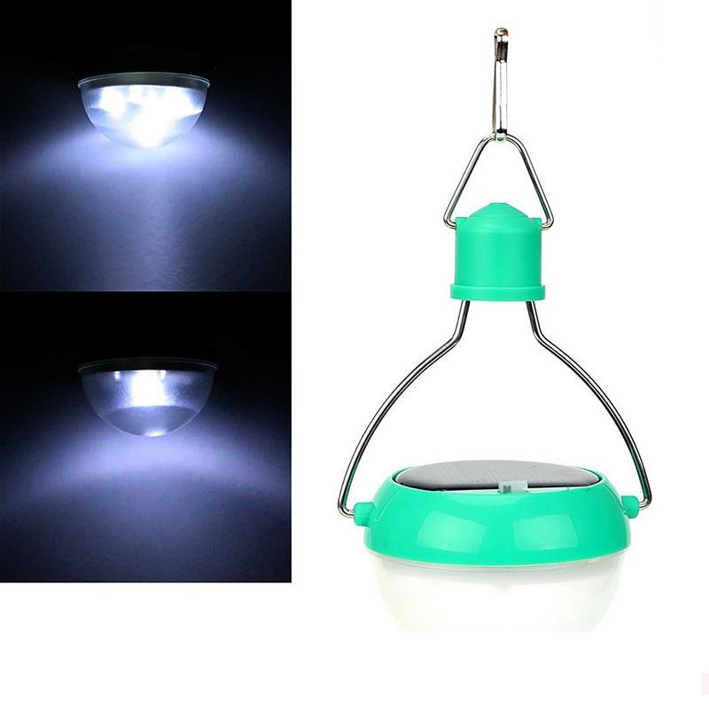 Portable LED Solar Camping Light Hanging Lights Outdoor Solar Powered Lantern Led Garden Light For Kis Reading Garden Patio Yard ...