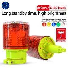 Светодиодный аварийный светильник на солнечной батарее/предупреждающий светильник на солнечной батарее s/светильник для маяка/светильник для дорожной Сигнализации s/лампа для башенного крана