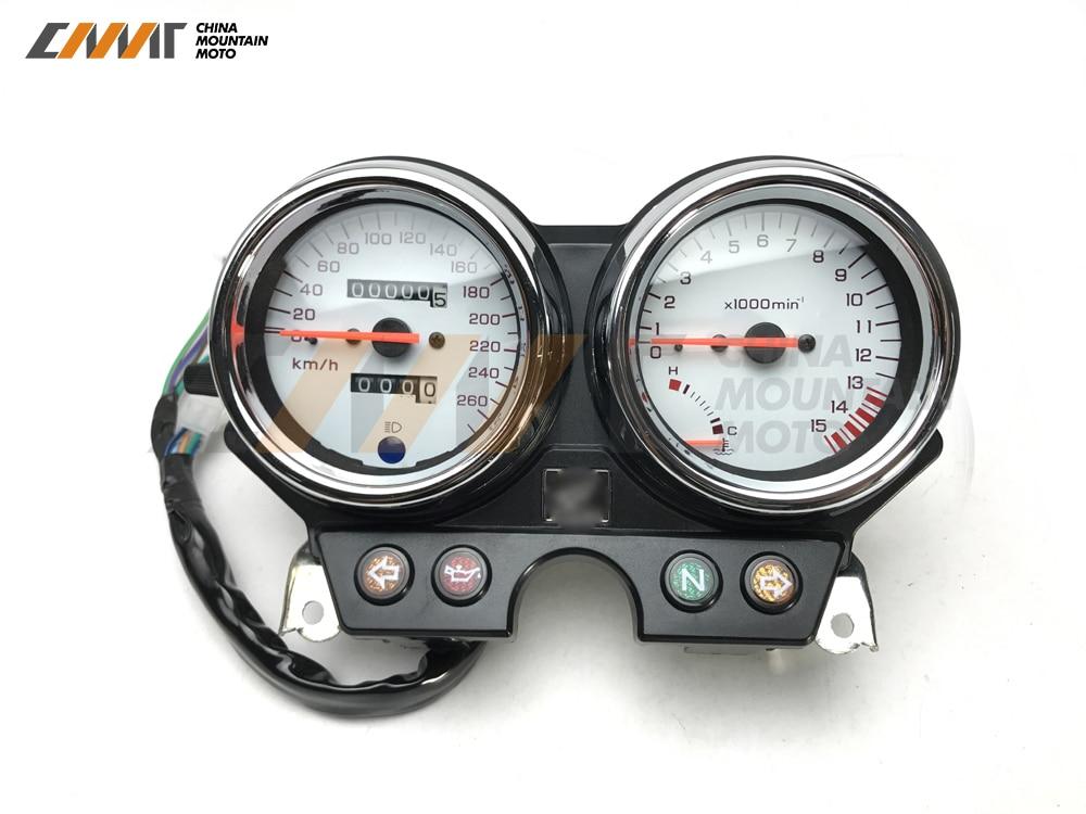 Новый тахометр случае кластера спидометр датчики для Honda CB600 Шершень 600 1996-2002