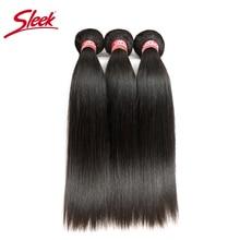 Sleek Straight Brazilian Hair Weave Bundles 1 PC Deal Human Hair Extension Vendors 8 To 28 Inch Non Remy 100% Human Hair Bundles