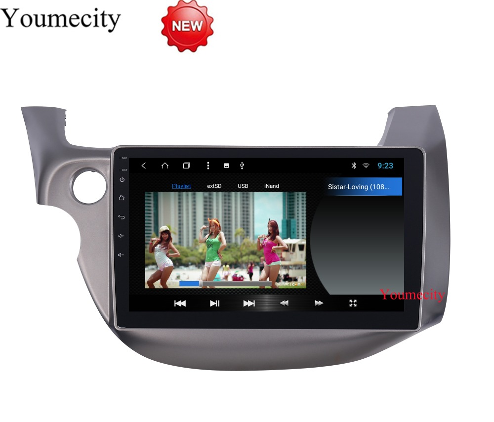 10.1 Octa Core Android 8.1 GPS del DVD Dell'automobile per HONDA FIT JAZZ 2007 2008 2009 2010 2012 2013 radio video lettore Capacitivo 1024*600