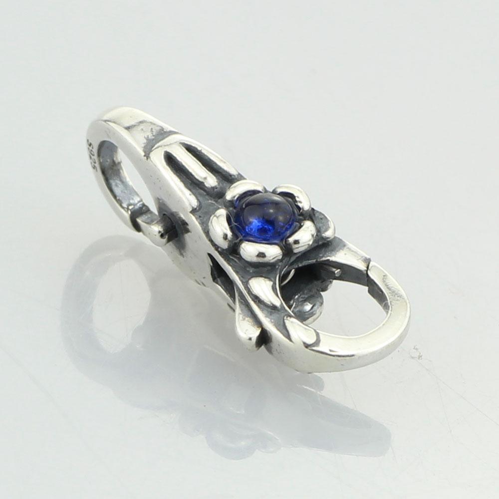 Image 4 - Emith Fla 925 en argent Sterling perles breloque arbre fleur serrures mousqueton fermoir pour les femmes idéal pour Bracelets européens bijoux bricolage perlebead treesilver charms beadscharm beads -