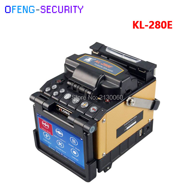 Fiber Optic Fusion Splicer KL-280E Core-Core Alignment By PAS Technology Kit Including Cleaver Stripper And Carrying Case