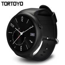 TORTOYO I4 Android 5 1 OS 3G Smart Watch Phone MTK6580 16GB ROM Smartwatch Clock Support