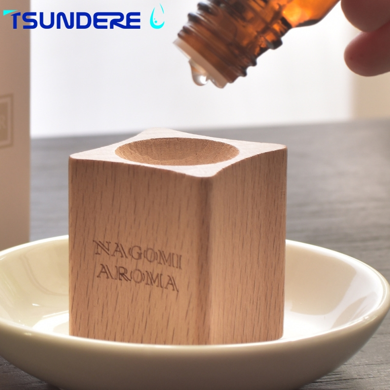 TSUNDERE L Aroma Diffuser Wood essential oil aroma diffuser Naturally distributed aroma For the bedroom baby room living room distributed reduplication