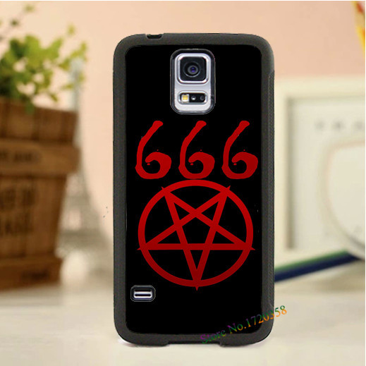 Satanic Symbol Fashion Original Cell Phone Case Cover For Samsung