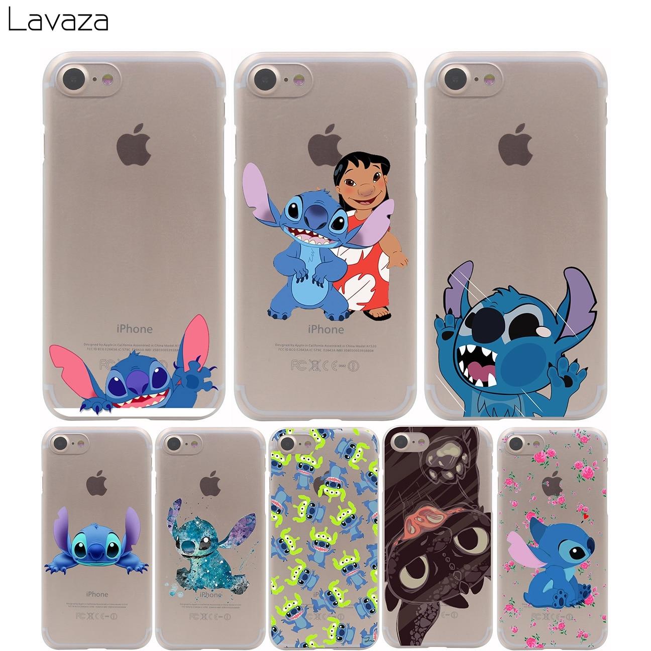 Lavaza cartoon stitch cute Case for iPhone XS Max XR X 8 7