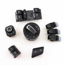 READXT Car Window Mirror Switch Headlight Trunk Release Door Lock Button For Passat B6 3C 5ND 941 431 B 959 565 A