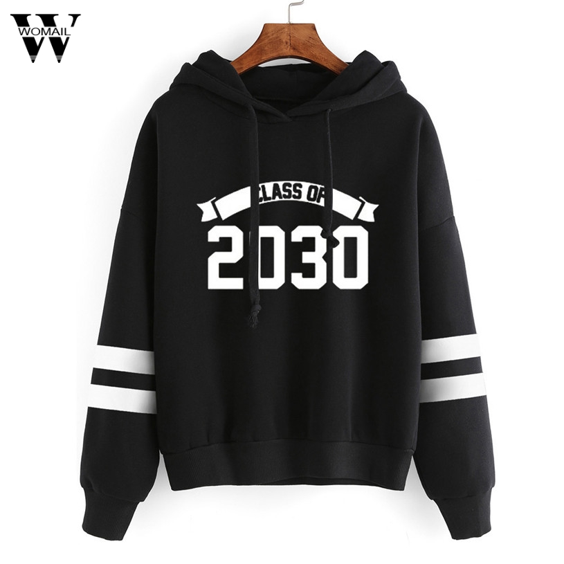 2020 #  Hoodies Hooded Solid for women  hot sale Korean pocket Pullovers leisure shirts with casual Fitness Sweatshirts