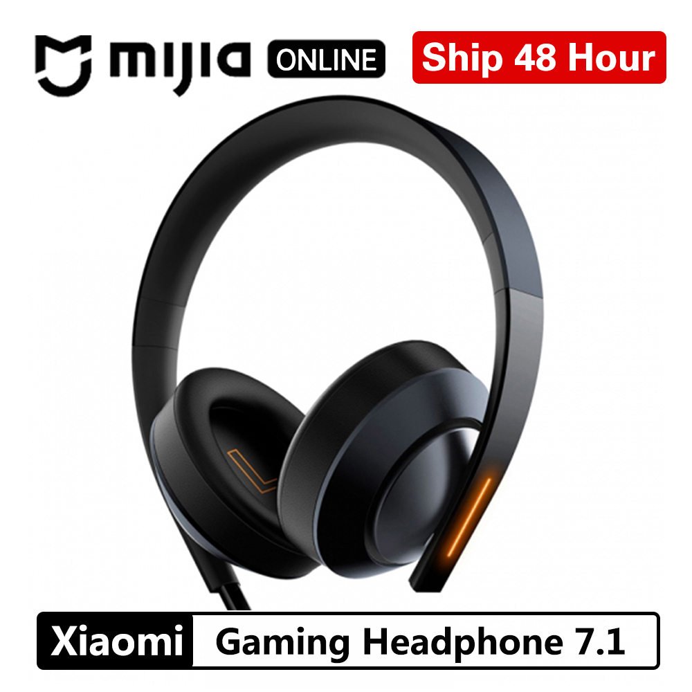 Xiaomi Mi Gaming Headphone 7.1 Virtual Surround Stereo With Backlit Anti-noise Headset Stereo Heavy Bass For PC Laptop Phone xanes a6s