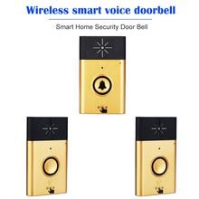 Wireless Voice Intercom Doorbellกลางแจ้งปุ่มUnitหน่วยในร่มตัวรับสัญญาณ2 Way Talk Monitor Smart Home Security Door bell