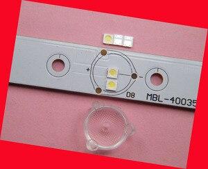 Image 3 - 200 pièce/lot pour réparation Philips Cool Hisense LED LCD TV rétro éclairage Article lampe SMD LED s 3535 3 V blanc froid diode électroluminescente