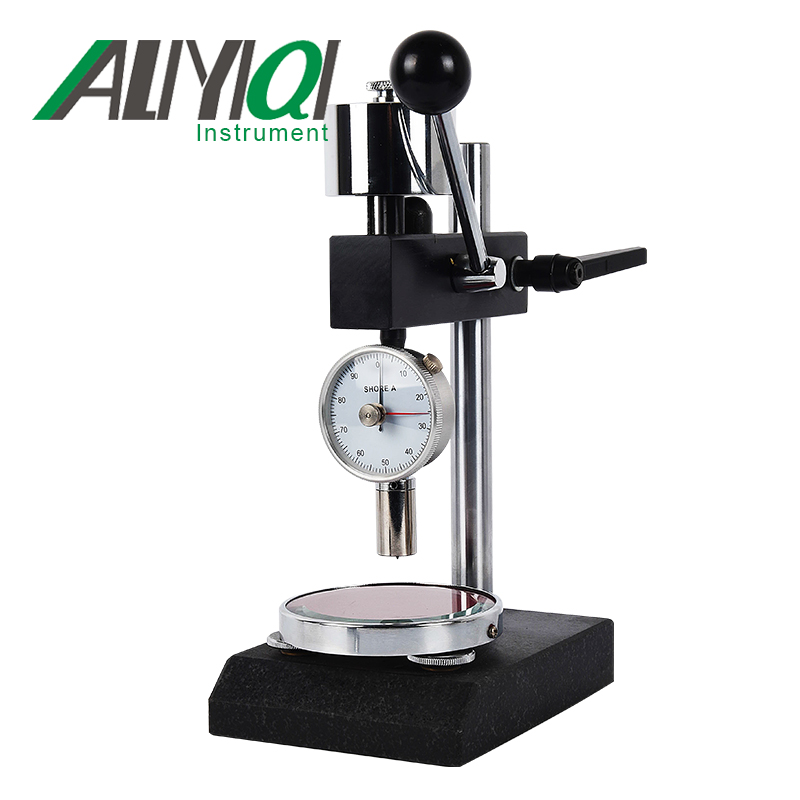 Shore A Manual Hardness Testing Equipment(LAC-YJ) With Shore Hardness Tester (LX-A-2)