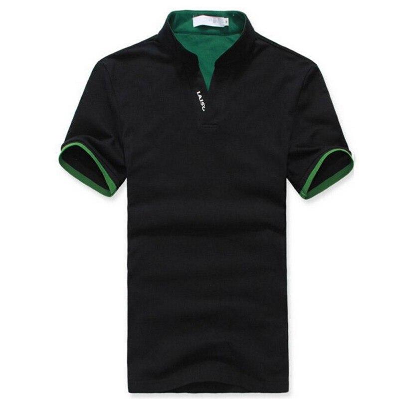 2017 Klassischen Einfarbigen Männer Revers Polo Shirt Kurzarm T-shirt Plus Größen M L Xl Xxl 3xl Festsetzung Der Preise Nach ProduktqualitäT