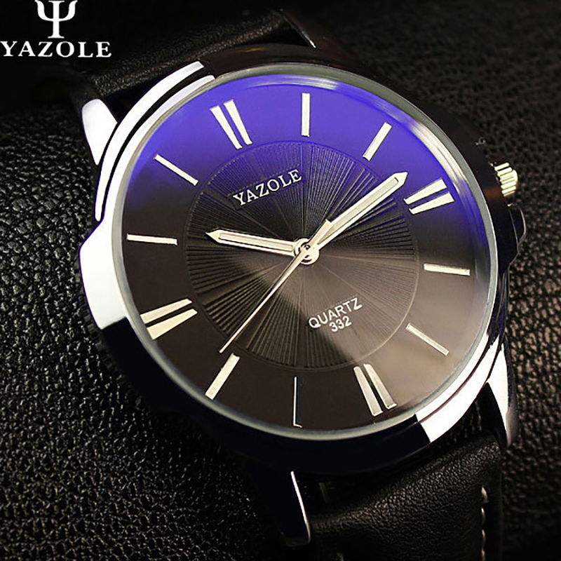 YAZOLE Quartz Watch Men Top Brand Luxury Famous 2018 Wristwatch Male Clock Wrist Watch Business Quartz-watch Relogio Masculino