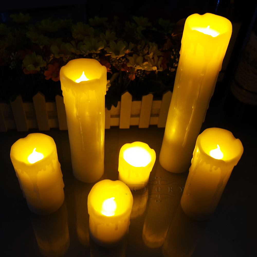 Lot Bougie Led Us 29 9 40 Off 6 Pieces Lot Add Remote Control Led Candle Include Batteries Scented Bougie Velas Flameless Candles Home Wedding Decoration In