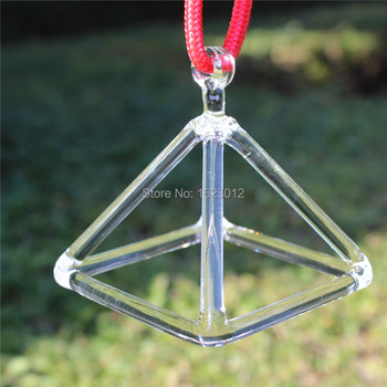 Clear Quartz Crystal Singing Pyramid 3inch and 11 inches for Sound Therapy