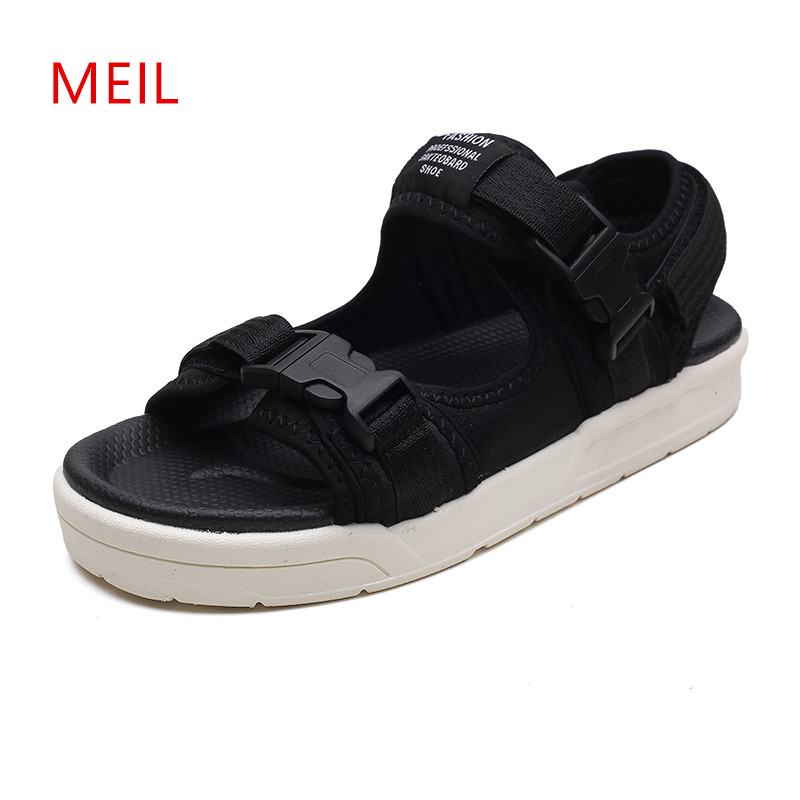Men Sandals 2018 Summer Men Shoes Sandals Slippers Mens Breathable Outdoor Slip On Beach Sandals Casual Sandale Erkek Sandalet