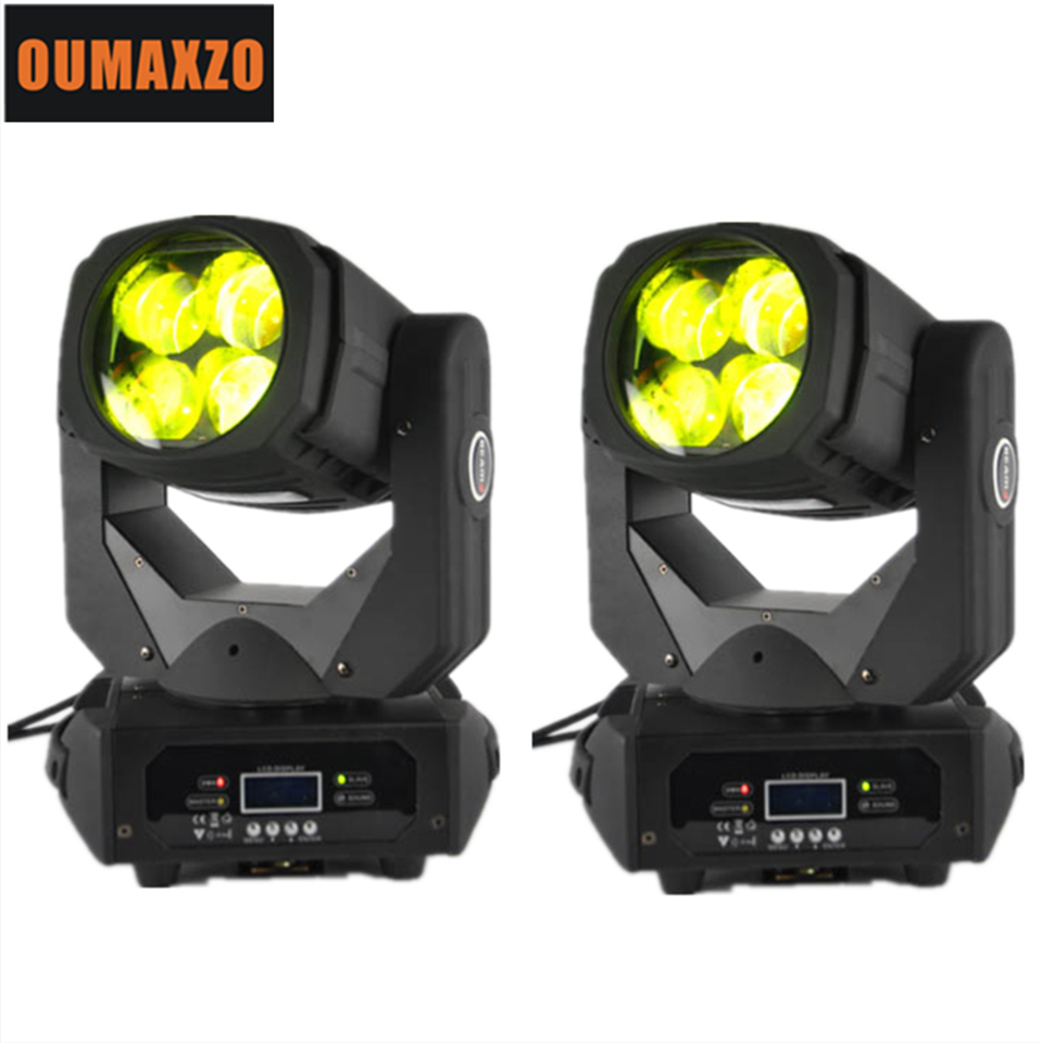 Blizzard Nova 4x25W Colorful 130W LED Super Beam Moving Head Light For Disco Nightclub DJ Bar Gobo Beam led stage light super