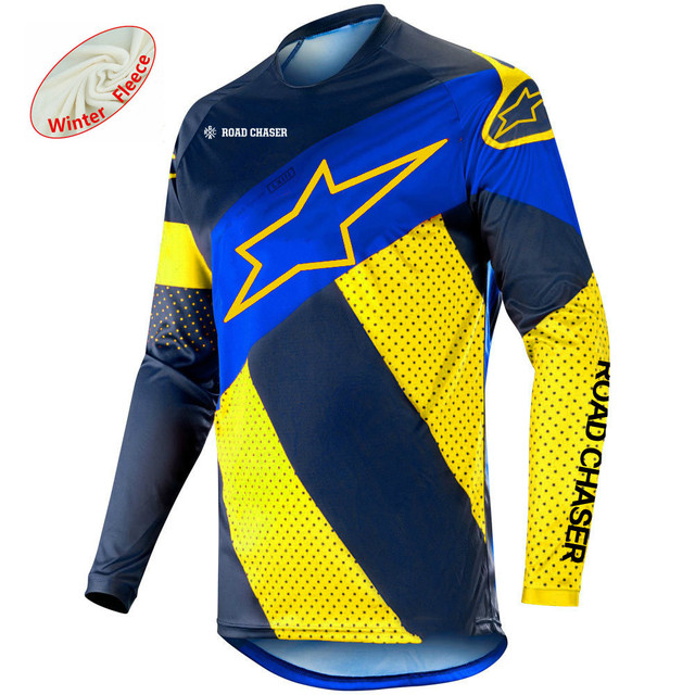 e61533d888c 2019 Mountain Bike Downhill Jersey MTB Star Cycling Racing Clothes Off-Road Motocross  Jersey Autumn Winter Motorcycle Jerseys
