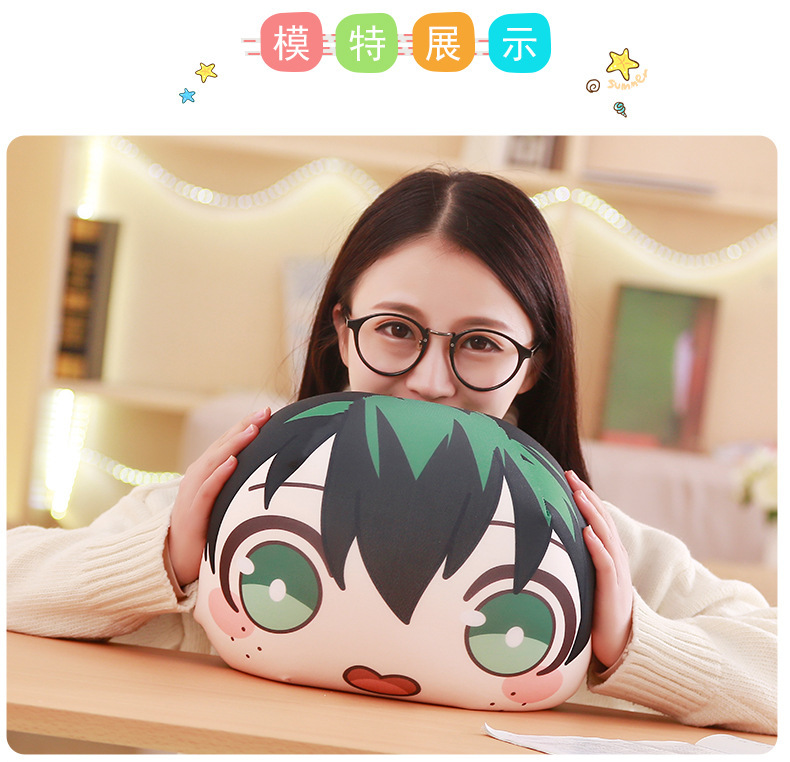 My Hero Academia Anime Boku Yoh Asakura Katsuki Bakugo Shoto Toooroki Dolls Nanoparticle Stuffed Toys Plush Girl Soft Gift