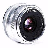 New Kaxinda 35mm f/1.7 Lens for MFT M43 Olympus OM D Panasonic GF6 GF5 GH3 GH2 GH1 S