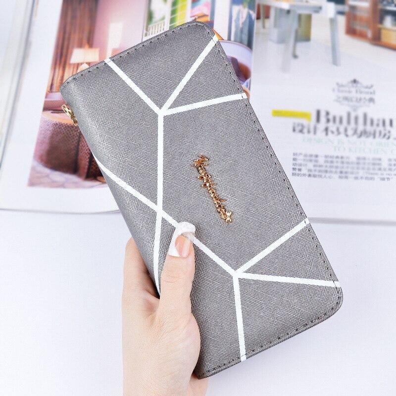handväskor kvinnor plånböcker korthållare långt varumärke - Plånböcker - Foto 3
