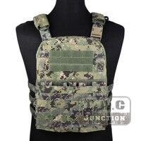 Emerson Tactical Adaptive Vest AVS Plate Carrier Assault MOLLE Lightweight Body Armor 3 Band Skeletal Cummerbund AOR2