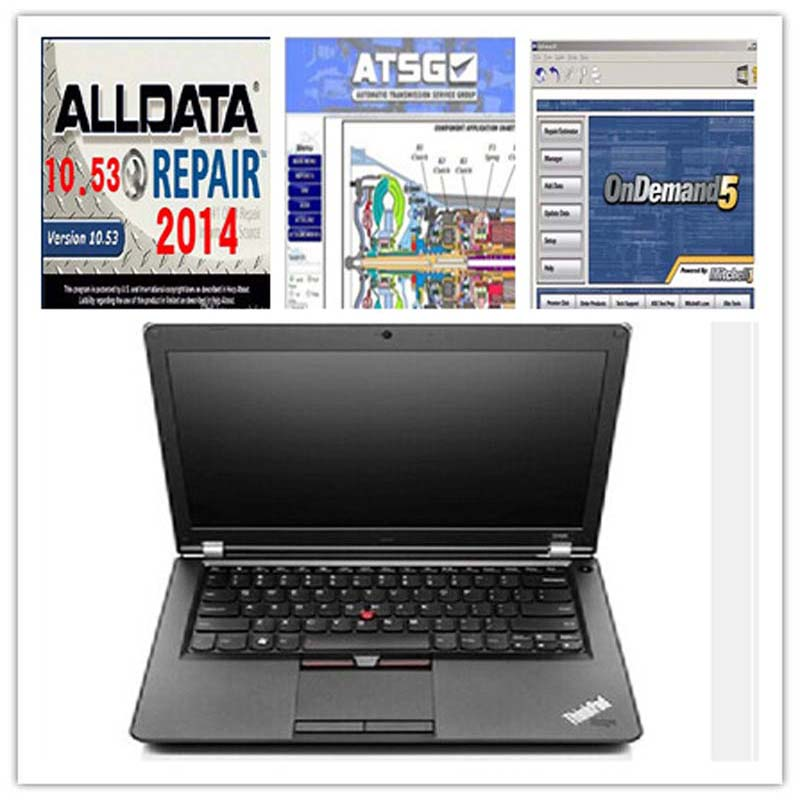 Auto Software Alldata + Mitchell On Demand + ATSG All Data 10.53 With 1TB HDD Installed  ...