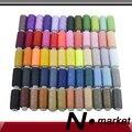 Neue Neue Fabrik Direkt 60 farben Gute Qualität Nähgarn Bunte Nähen Kreuzstich 250 yards Nähgarn