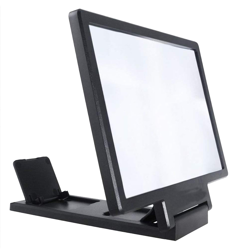 Mobile phone screen 3D amplifier magnifier Amplification phone screen 8 inch Universal for all phone Folding expander stand